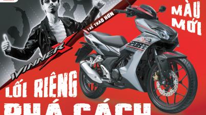 Honda Việt Nam giới thiệu phiên bản Thể thao ABS tem màu mới -Lối riêng phá cách- & công bố đại sứ thương hiệu cho siêu phẩm WINNER X