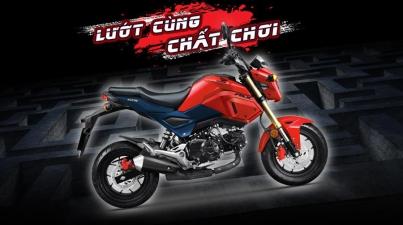 Honda Việt Nam giới thiệu xe côn tay MSX 125cc phiên bản mới
