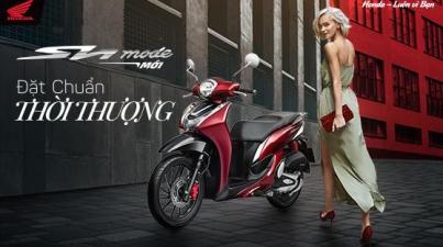 Honda Việt Nam giới thiệu phiên bản hoàn toàn mới mẫu xe Sh mode 125cc – Đặt chuẩn thời thượng –